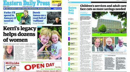 Eastern Daily Press – August 13, 2019