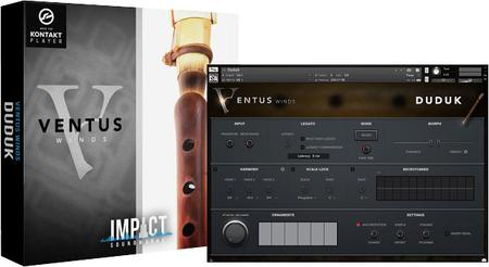 Impact Soundworks Ventus Ethnic Winds Duduk v1.1 KONTAKT UPDATE