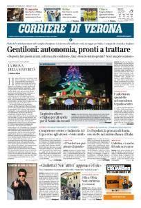 Corriere di Verona - 25 Ottobre 2017