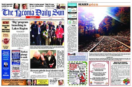The Laconia Daily Sun – November 13, 2018