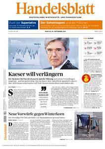 Handelsblatt - 26. September 2016