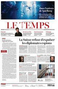 Le Temps - 28 mars 2018
