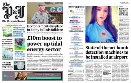 The Press and Journal Moray – February 11, 2019