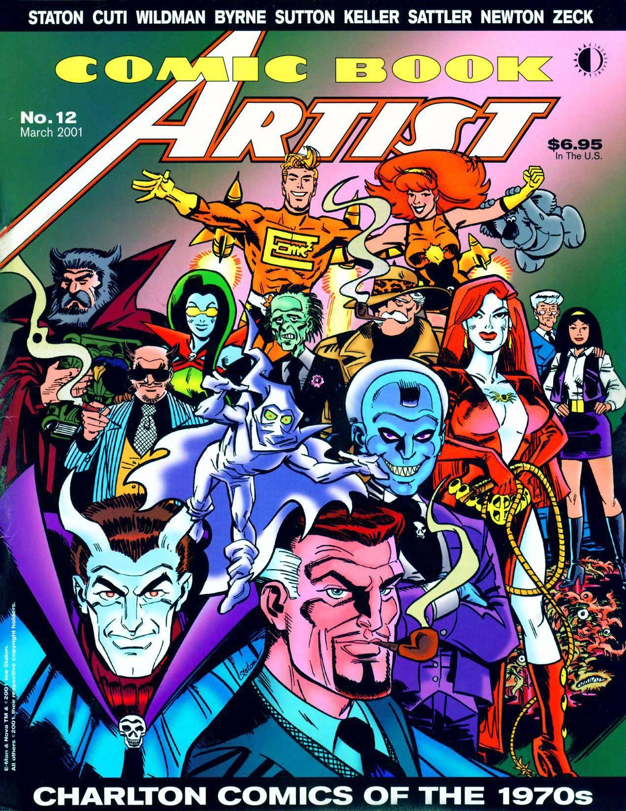 Comic Book Artist v1 012 2001 - Charlton Comics of the 1970s