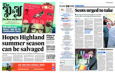 The Press and Journal Moray – July 06, 2020