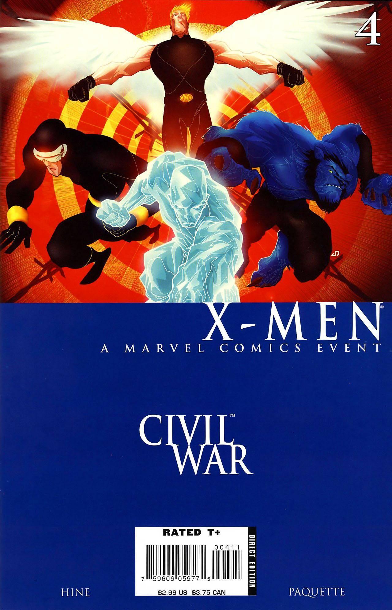 Civil War - X-Men 04