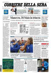 Corriere della Sera – 01 ottobre 2018