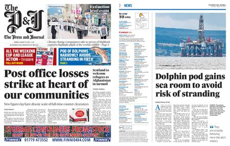 The Press and Journal Moray – August 16, 2021