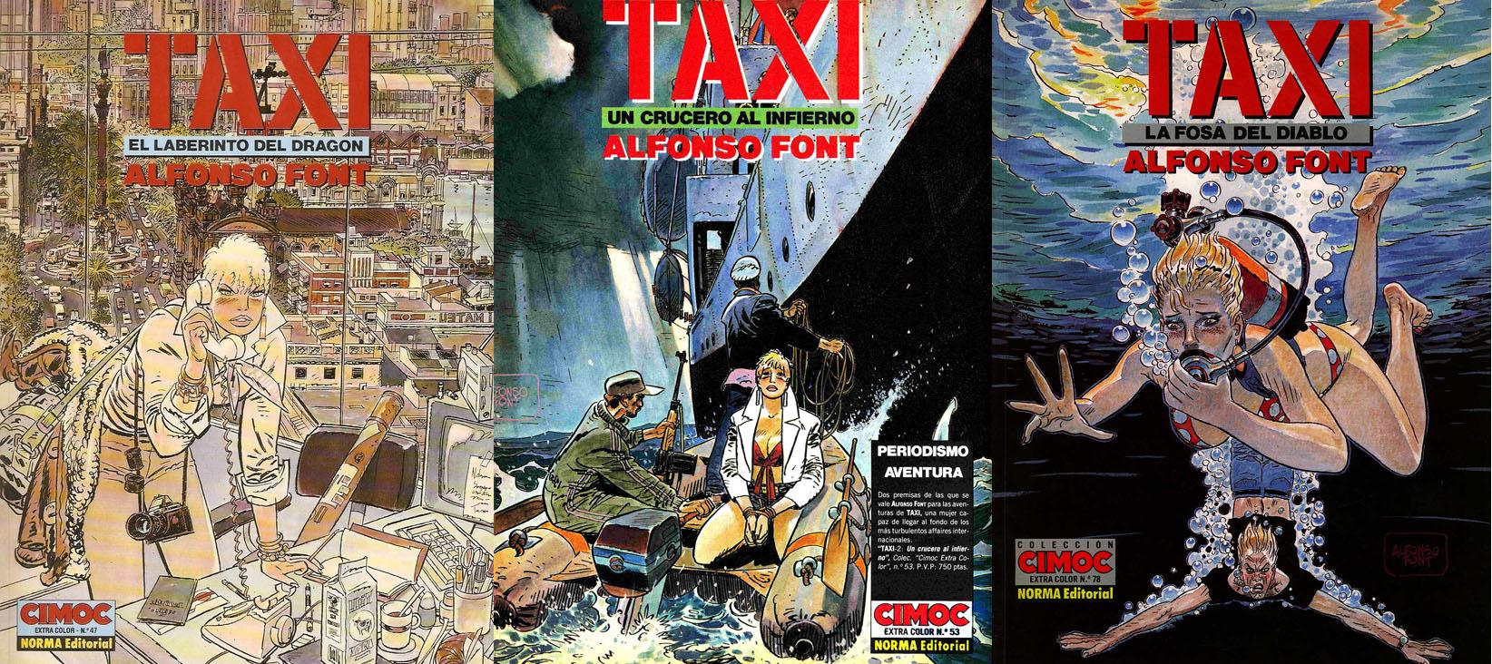 Alfonso Font - Taxi Tomo 1-3
