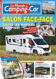 Le Monde du Camping-Car - novembre 2018