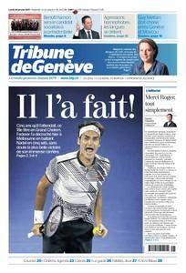 Tribune de Genève du 30 Janvier 2017