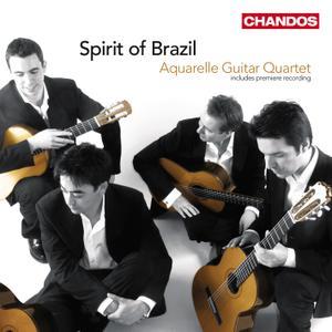 Aquarelle Guitar Quartet - Spirit of Brazil (2009) [Re-Up]