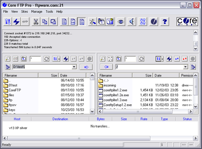 Core FTP Pro 2.2 Build 1941