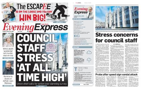Evening Express – February 18, 2020