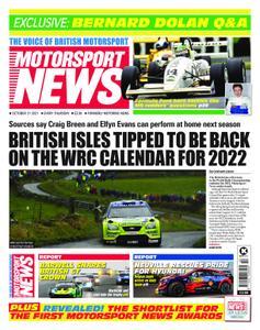 Motorsport News - October 21, 2021