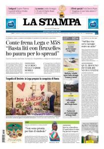 La Stampa Torino Provincia e Canavese - 25 Ottobre 2018