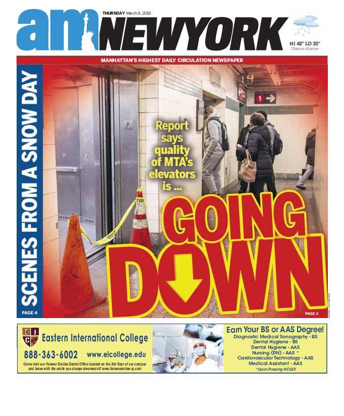AM New York - March 08, 2018
