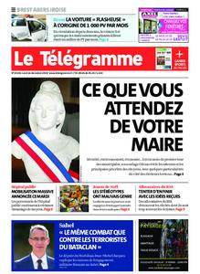 Le Télégramme Brest Abers Iroise – 16 décembre 2019