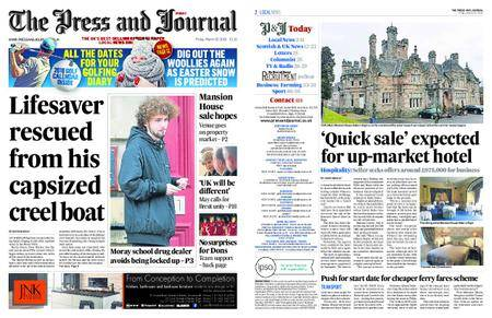 The Press and Journal Moray – March 30, 2018