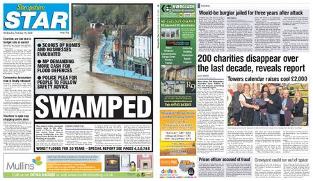 Shropshire Star Shrewsbury Edition – February 19, 2020