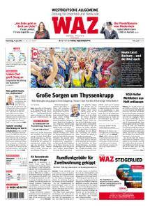 WAZ Westdeutsche Allgemeine Zeitung Oberhausen-Sterkrade - 19. Juli 2018