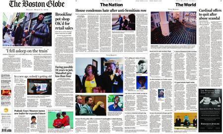 The Boston Globe – March 08, 2019