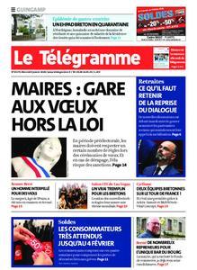 Le Télégramme Guingamp – 08 janvier 2020