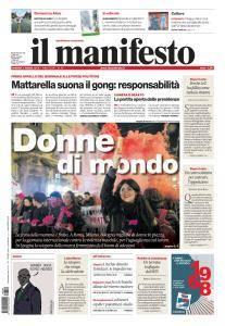 il Manifesto - 9 Marzo 2018