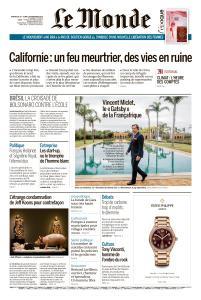 Le Monde du Dimanche 18 et Lundi 19 Novembre 2018