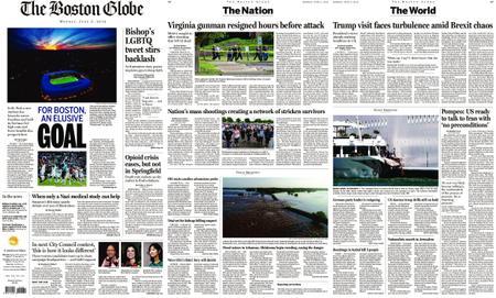 The Boston Globe – June 03, 2019