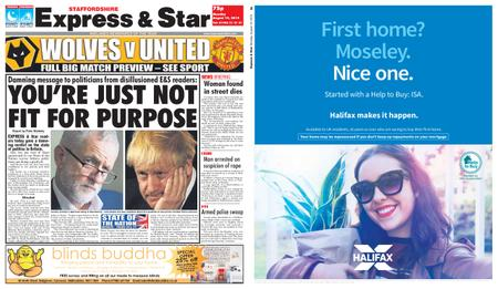 Express and Star Staffordshire Edition – August 19, 2019