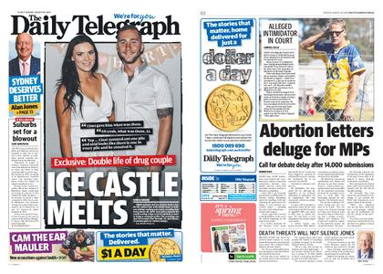The Daily Telegraph (Sydney) – August 20, 2019