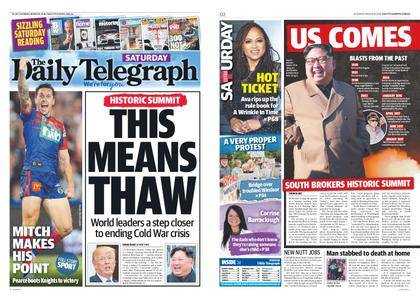 The Daily Telegraph (Sydney) – March 10, 2018