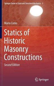 Statics of Historic Masonry Constructions, Second Edition