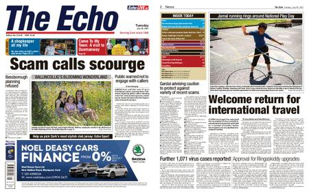 Evening Echo – July 20, 2021