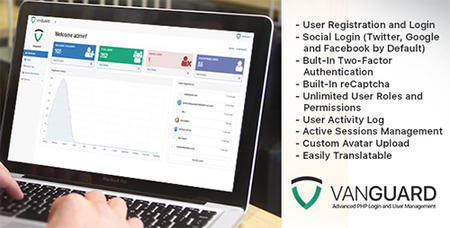 CodeCanyon - Vanguard v1.3.0 - Advanced PHP Login and User Management - 14521866