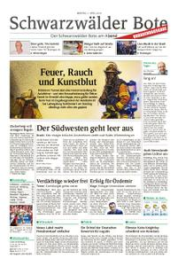 Schwarzwälder Bote Hechingen - 01. April 2019