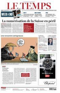 Le Temps - 10 mars 2018