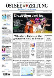 Ostsee Zeitung Wolgast - 19. November 2018