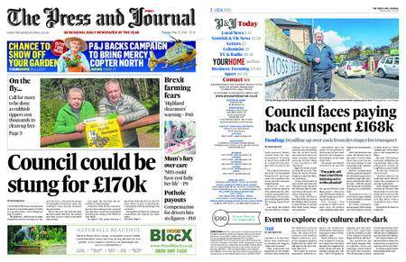 The Press and Journal Moray – May 15, 2018