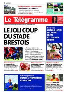 Le Télégramme Brest – 14 septembre 2020