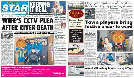 Shropshire Star Shrewsbury Edition – December 20, 2017