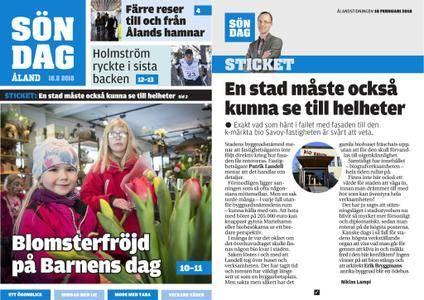 Ålandstidningen – 18 februari 2018