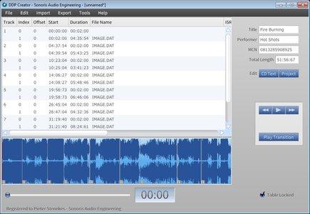 Sonoris DDP Creator 4 Pro v4.1.2 WiN / OSX