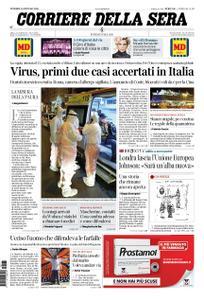 Corriere della Sera – 31 gennaio 2020