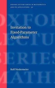 Invitation to Fixed Parameter Algorithms