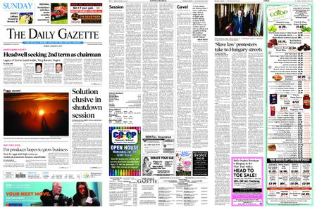 The Daily Gazette – January 06, 2019