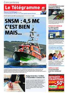 Le Télégramme Concarneau – 22 octobre 2019