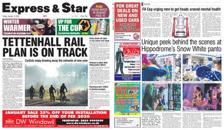 Express and Star City Edition – January 03, 2020