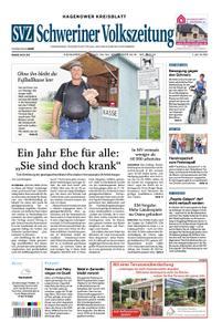 Schweriner Volkszeitung Hagenower Kreisblatt - 29. September 2018